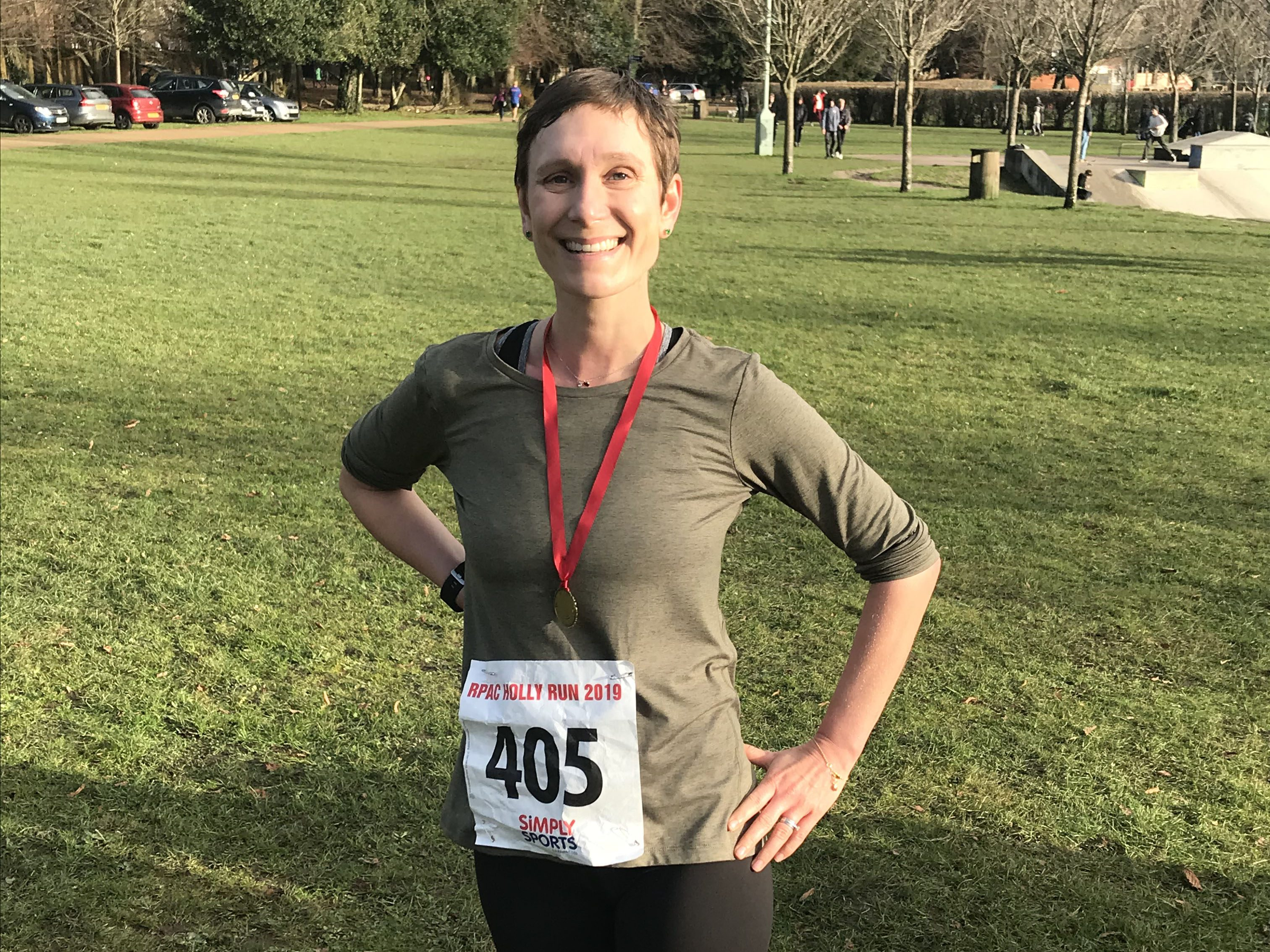 Amy first run after diagnosis